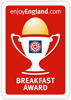 Enjoy England Breakfast Award - Yes