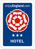 Enjoy England Hotel Rating - 3 Star