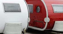 Caravans on the Norfolk Broads