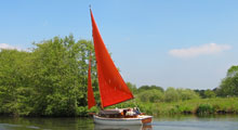 Sailing Cruiser Hire on the Norfolk Broads