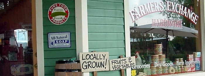 Farm Stores on the Norfolk Broads