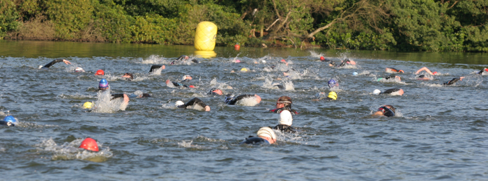 Swimming on the Norfolk Broads