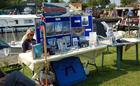 Hunnter's Yard stall at Broads Celebration Day