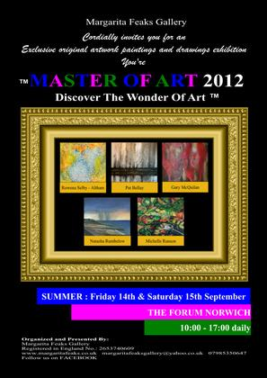 You're Master of Art SUMMER Exhibition 2012