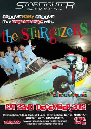 The 'STARGAZERS' & International D.J Rockin Roland