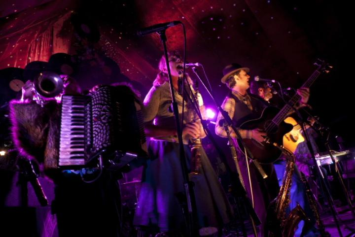 The Vagaband concert - Wymondham Music Festival