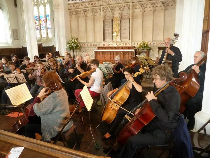 Mozart Orchestra Concert, St Mary's Church Bungay