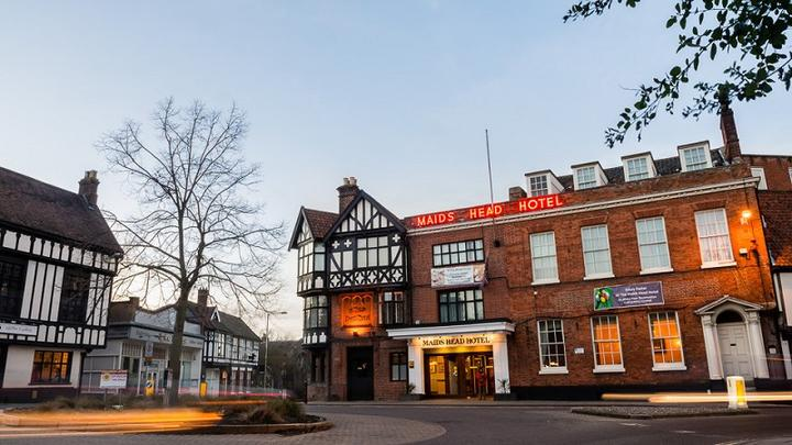 Burns Night at The Maids Head Hotel, Norwich