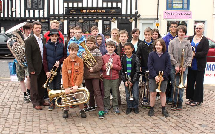 Norfolk Schools' Brass Band - Wymondham Music Festival