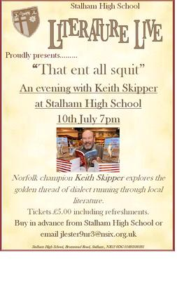 An evening with Keith Skipper