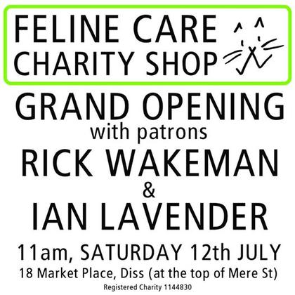 Feline Care Diss Charity Shop Grand Opening