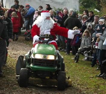 Visit Father Christmas in his Magical Woodland Garden