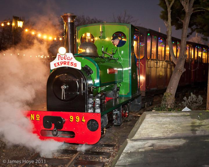 Christmas at Bressingham Steam, South Norfolk – Father Christmas, Dad's Army & Victorian Gallopers
