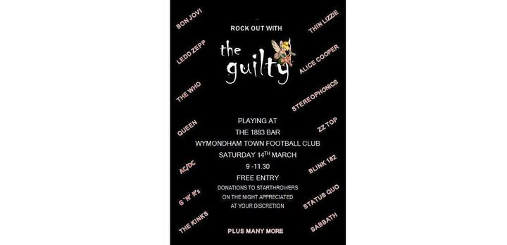 Wymondham Town Football Club present - The Guilty