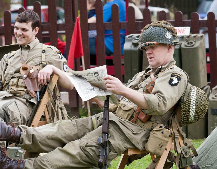 Bressingham Steam & Gardens Goes Back to the 1940s