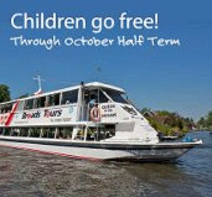 October Half- Term, Children Go FREE!