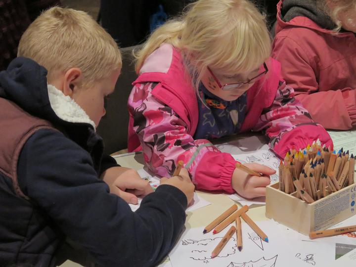 Wymondham Abbey Children's Christmas Craft Time