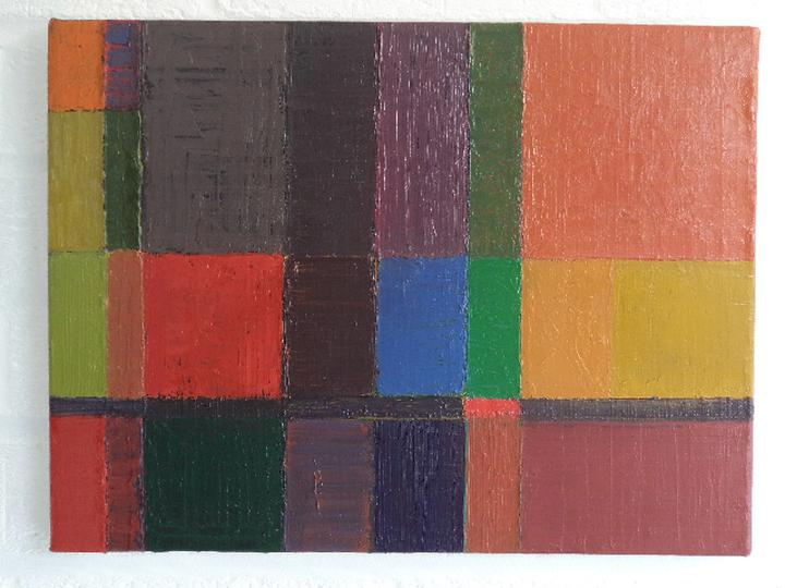 Crossings – an exhibition of abstract art by Christopher Sharpe