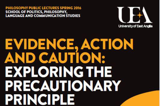 University of East Anglia's Philosophy Public Lecture Series