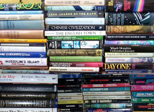 Huge Charity Book Sale