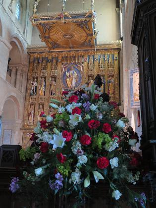 Wymondham Abbey Flower Festival - Rejoice