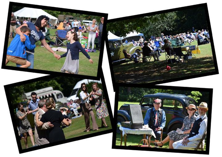 The Swing Jazz, Folk and Blues Picnic in Holt - Sunday 14 August