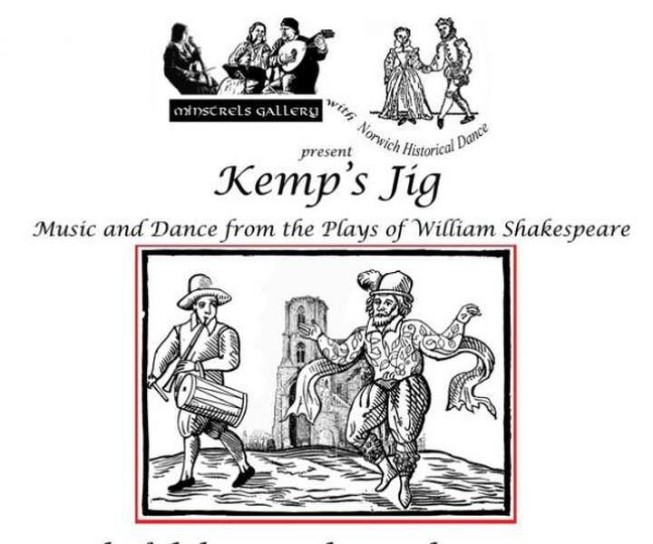 Kemp's Jig - Tudor Music and Dance at Wymondham Abbey