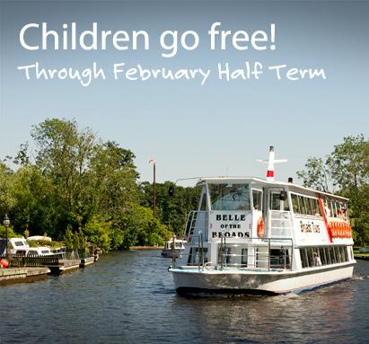February Half- Term, Children Go FREE!