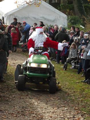 Meet Father Christmas at Fairhaven Garden
