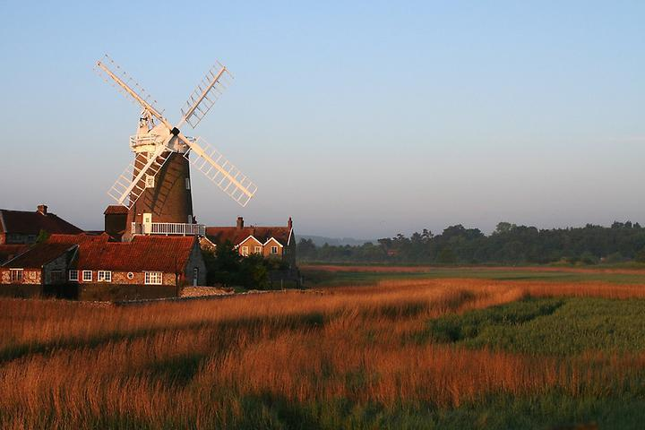 23rd July The Cley Windmill afternoon tea party