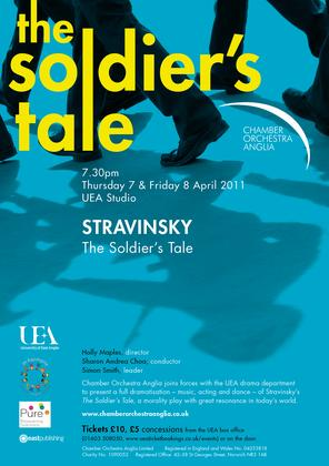 Chamber Orchestra Anglia and UEA Drama Present Stravinsky's The Soldier's Tale