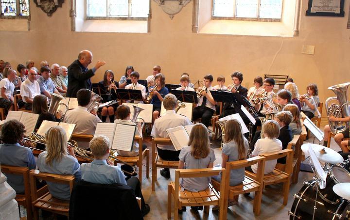 Wymondham Area Schools' Brass Band Launches Wymondham's Summer of Music