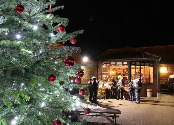 Christmas Open Evening at Wroxham Barns