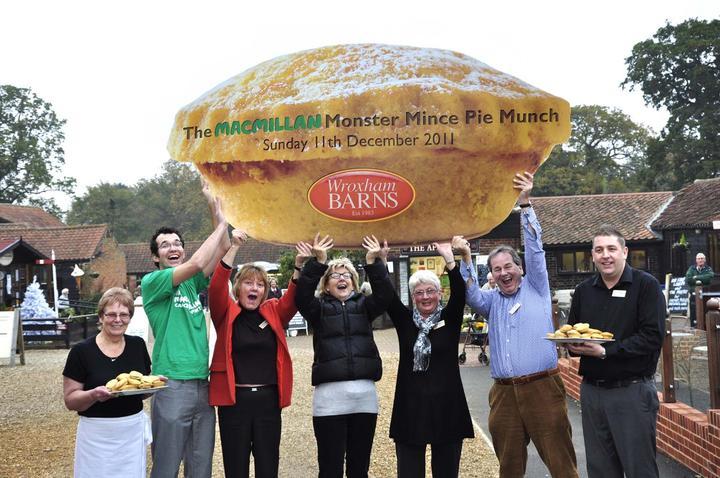 Macmillan Monster Mince Pie Munch