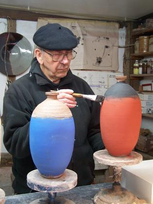 Robin Welch international ceramic artist - exhibition Wymondham Arts Centre