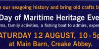 Maritime Heritage Day at Creake Abbey Barn Saturday 12th August