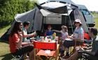 Camping at Fakenham Fairways