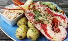 Lobster when in season