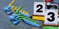 Dragon Boat Racing at Oulton Broad