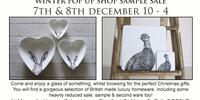 Laura Jayne Fisk Pop Up Christmas Shop and Sale
